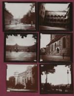 150420H - 6 PHOTOS 1900 - ALLEMAGNE STUTTGART Château Collégiale Palais Royal - Ancianas (antes De 1900)