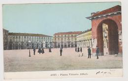 Asti, Piazza Vittorio Alfieri  - F.p. - Anni '1900 - Asti
