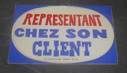 Representant Chez Son Client : Carte Autocollante - Auto - Collant Dorchy ::  Illustrateurs --------- 540 - Ansichtskarten
