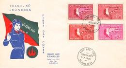 SÜD-VIETNAM - FDC 1961 THANH - NU JEUNESSE /ak423 - Viêt-Nam