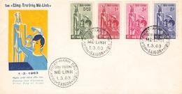 SÜD-VIETNAM - FDC 1963 CONG TRUONG ME LINH /ak422 - Viêt-Nam
