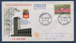 France - FDC - Premier Jour - Le Havre - 1958 - 1950-1959
