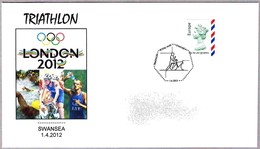 LONDON 2012 - TRIATHLON - Swansea. 2012 - Summer 2012: London