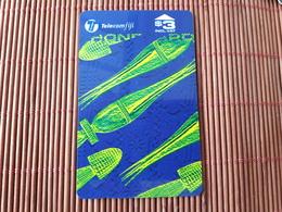 Phonecard Fiji Used Number 21FJB Used  Rare - Fiji