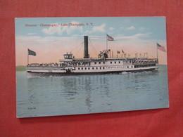 Steamer Chateaugay  Lake Champlain NY  Ref 3991 - Paquebots