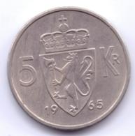 NORGE 1965: 5 Kroner, KM 412 - Norvegia
