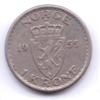 NORGE 1955: 1 Krone, KM 397 - Norvegia