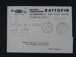 """4860 ITALIA Regno -1944- Storia Postale """"Zona Sprovvista Di Francobolli"""" Ordinaria (descrizione) - 1900-44 Victor Emmanuel III"""