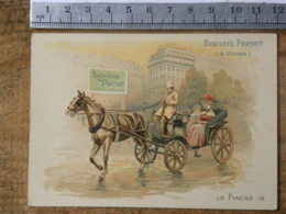 Chromo BISCUITS PERNOT - Le Fiacre 16 - Pernot