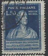 Italia - 1949 - Usato/used - Volta - Un 612 - Mi 785 - 1946-60: Used