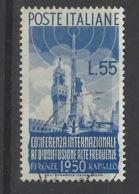 Italia - 1950 - Usato/used - Radiodiffusione - Un 624 - Mi 797 - 6. 1946-.. Repubblica