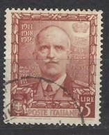 Italia - 1938 - Usato/used - Impero - Sass N. 448 - Usati