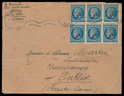 FRANCE. C.1946. Servalex - Savoie. Env Fkd 1 F X 6. Opportunity! - France
