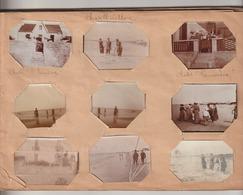 - 17 - Charente Maritime -  Album Artisanal Ancien De Photos Du  17 + Divers. (Chatelaillon, La Rochelle, Saintes ....) - Lieux