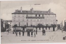 Bv - Les Rares Cpa De LORIENT - Grand Hôtel De France (vente Sur 7 Jours) (MTIL) - Lorient