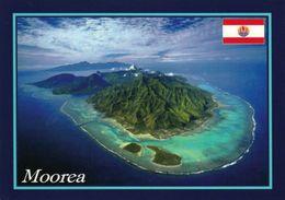 1 AK Moorea Französisch Polynesien * Blick Auf Das Atoll - Luftbildaufnahme - French Polynesia * - Polinesia Francese