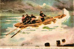 CPA AK Sailors In A Boat SHIPS (911840) - Schiffe