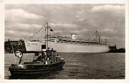 CPA AK K.d.F.-Schiff E.S. Robert Ley - Hamburg SHIPS (911852) - Paquebots
