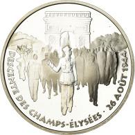 Monnaie, France, Libération De Paris, 100 Francs, 1994, BE, FDC, Argent - Commémoratives