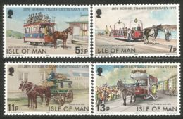 590 Man Horse Tram Douglas Cheval Pferd Tramway Cavale Caballe MNH ** Neuf SC (MAN-96) - Tramways