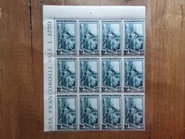 REPUBBLICA - Italia Al Lavoro - Blocco Da 65 Lire Ruota - Nuovo ** + Spese Postali - 1946-60: Nuovi