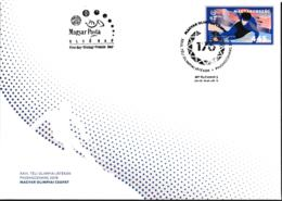 Hungary FDC 2018 PyeongChang Olympic Games  (LAR9-46) - Winter 2018: Pyeongchang