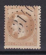 D145 /  LOT NAPOLEON N° 28A OBL COTE 20€ - 1863-1870 Napoléon III Lauré