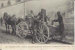 02 VIC SUR AISNE CUISINE ALLEMANDE CAPTUREE PAR LES FRANCAIS A LA BATAILLE DE VIC SUR AISNE GUERRE DE 1914 1918 - Guerre 1914-18