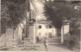 Terme Antiche Della Salvarola - Sassuolo  (Modena) - Amministrazione Poste - Modena