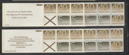 Nederland Pb 23a + 23b - Booklets