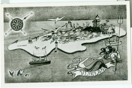 Groeten Van Vlieland 1963; 'Cartografisch' - Gelopen. (Hommema - Vlieland) - Vlieland