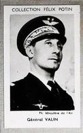 Martial Valin - Général D'Aviation - Armée De L'air Né à Limoges   - 4ème Collection Photo Felix POTIN 1952 - Félix Potin