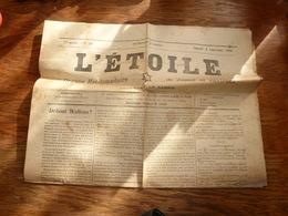 Journal L'Etoile 4/9/1920 Jumet Et Ses Environs - Andere
