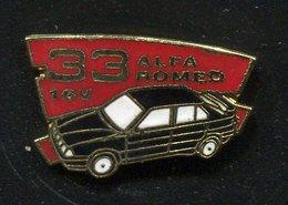 Pin's - Pins - Alpha Roméo - Thématique Automobile - Alfa Romeo