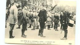 75* PARIS   14 Juillet 1919 - Marechaux - France