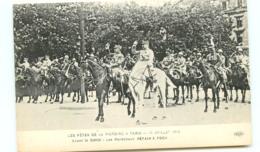 75* PARIS   14 Juillet 1919 Avant Le  Defile - France