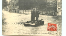 75* PARIS   Inondations - Cours La Reine - Inondations De 1910