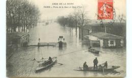 75* PARIS   Inondations - Quai D'ivry - Inondations De 1910