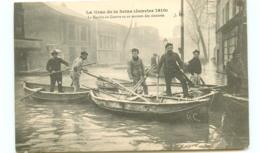 75* PARIS   Inondations - Marine De Guerre - Inondations De 1910