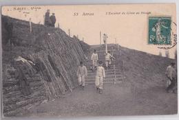 ARRAS - L'Escalier Du Génie Militaire Au Rivage - Arras
