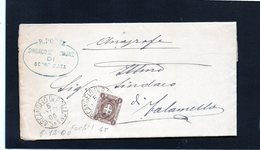 CG32 -  Lettera Da Sant'Arcangelo Di Romagna Per Talamello 5/12/1900 - 1900-44 Victor Emmanuel III
