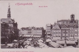253850S, Hertogenbosch, Groote Markt 1901 - 's-Hertogenbosch