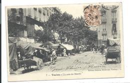 TOULON - Le Marché (1905) Animée - VENTE DIRECTE X - Markets