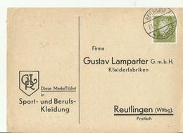DR GS 1932 HEILBORNN - Interi Postali
