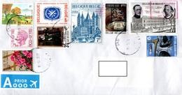 Belgium 2015, Priority Envelope - Briefe U. Dokumente
