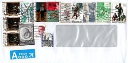 Belgium 2016, Priority Envelope - Briefe U. Dokumente