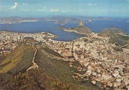 Rio De Janeiro (Brésil) - Panorama - Mirante Dona Marta E Pâo De Açucar - Brésil