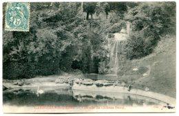 78600 LE MESNIL-LE-ROI - Carrières-sous-Bois - Cascade Du Château Duval - France