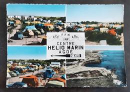Carte Postal Timbrée - 1301 - AGDE - Centre Helio-Marin - Agde