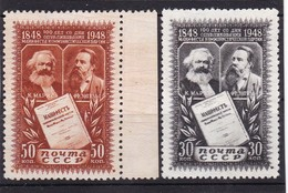 #DZ.11556 Russia - Soviet Union 1948, Full Set (x), Michel 1201 -1202: 100th Communist Manifesto - Nuovi
